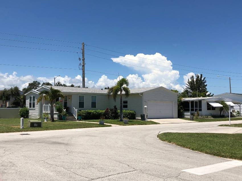 Waterfront Vero Beach mobile home for sale