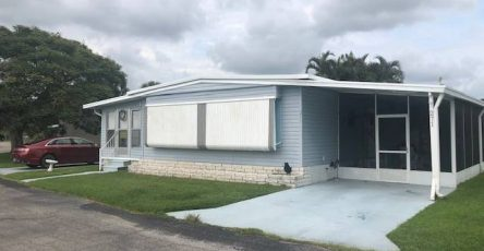 Fully Furnished mobile home in Vero Beach FL
