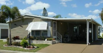 Mobile home in North Fort Myers FL for sale