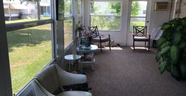 Furnished mobile home in Fort Pierce FL for sale