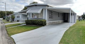 Furnished mobile home in Lakeland FL for sale