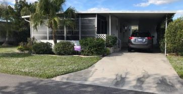 Venice mobile home for sale 2 bed / 2 bath in Bay Indies