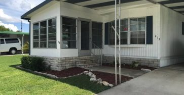 2/2 Ocala FL mobile home for less than $9,000 55+ MHC