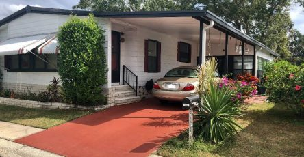 Clearwater FL mobile home for sale 2/2